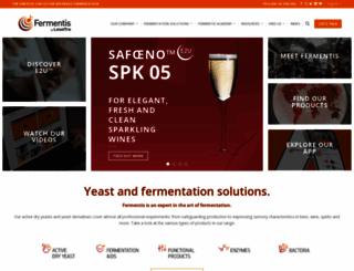 fermentis.com screenshot