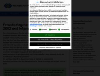 fernabsatzgesetz.de screenshot