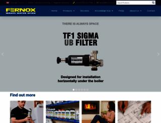 fernox.com screenshot