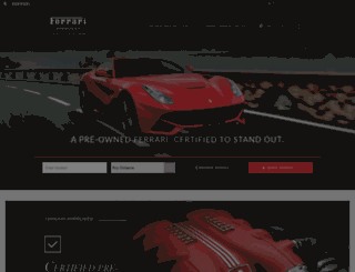 ferrariapproved.com screenshot