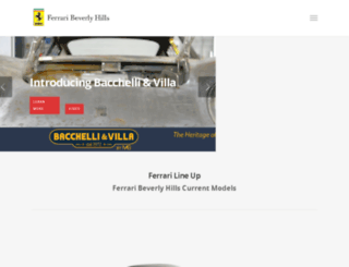 ferraribeverlyhills.com screenshot