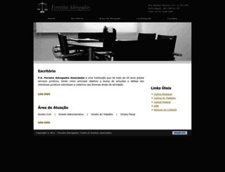 ferreiradvogados.adv.br screenshot