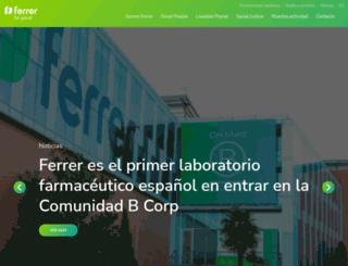 ferrergrupo.com screenshot