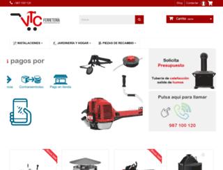 ferreteriaonlinevtc.com screenshot