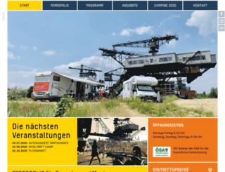 ferropolis-online.de screenshot