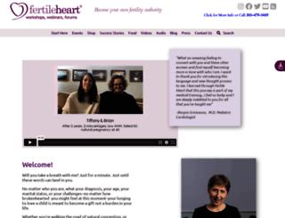 fertileheart.com screenshot