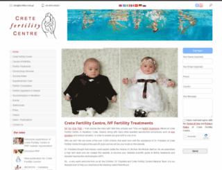 fertilitycrete.gr screenshot