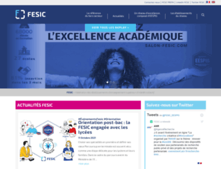 fesic.org screenshot