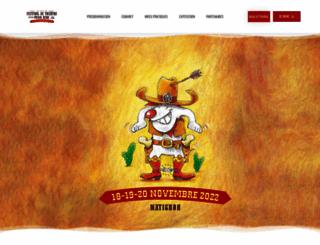 festival-pour-rire.com screenshot