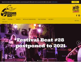 festivalbeat.blocchetti.me screenshot