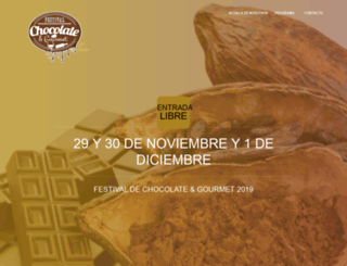 festivalchocolateygourmet.com screenshot
