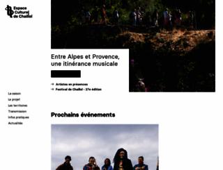 festivaldechaillol.com screenshot