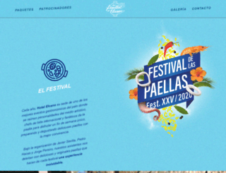 festivaldelaspaellas.mx screenshot