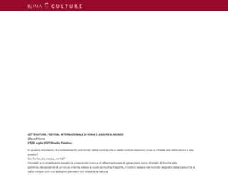 festivaldelleletterature.it screenshot