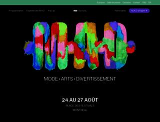festivalmodedesign.com screenshot