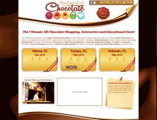 festivalofchocolate.com screenshot