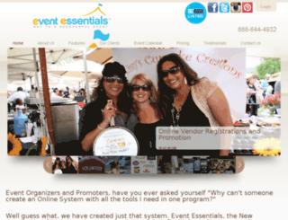 festivalsetup.com screenshot