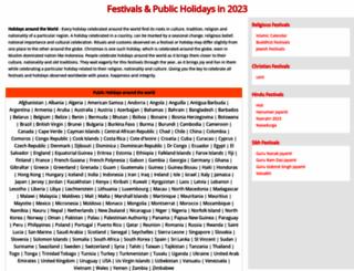 festivalsfun.com screenshot