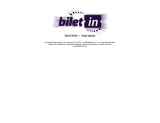 festiwalnowamuzyka.biletin.pl screenshot