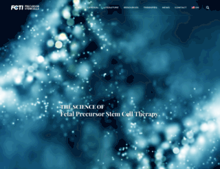 fetal-cells.com screenshot