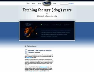 fetchsoftworks.com screenshot