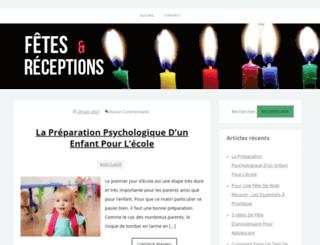fetes-et-receptions.com screenshot