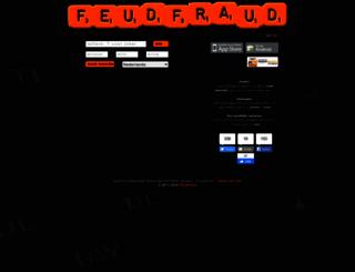 feudfraud.com screenshot