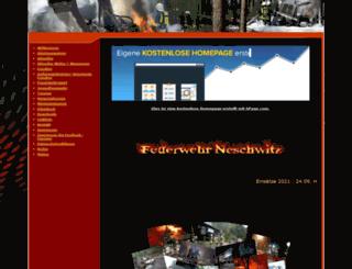 feuerwehr-neschwitz.npage.de screenshot