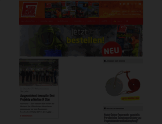 feuerwehrmagazin.de screenshot