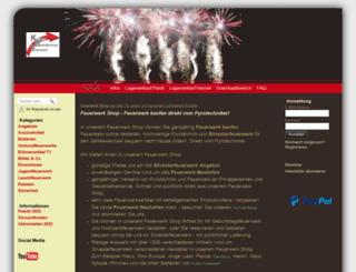 feuerwerk-shop24.de screenshot