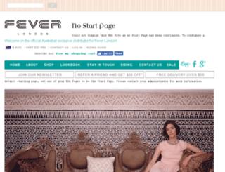feveraustralia.com.au screenshot