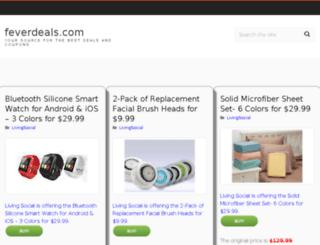 feverdeals.com screenshot