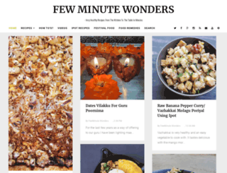fewminutewonders.com screenshot