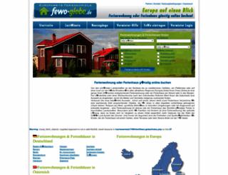 fewo-globe.de screenshot