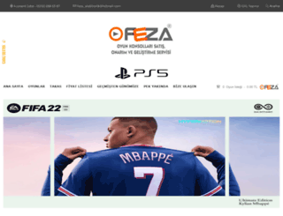 feza-elektronik.com screenshot