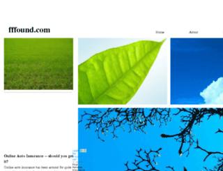 fffound.com screenshot