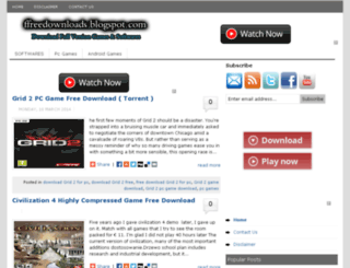 ffreedownloads.blogspot.com screenshot