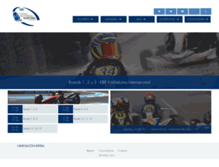 fiamexicokarting.org screenshot