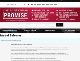 fiatofedmond.com screenshot