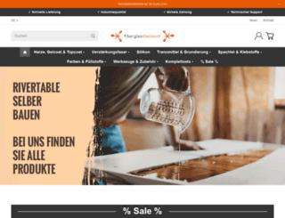 fiberglas-discount.de screenshot