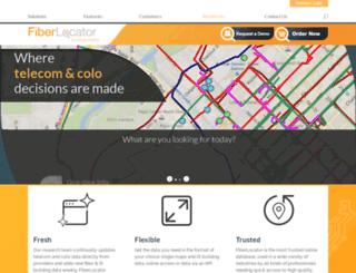 fiberlocator.com screenshot