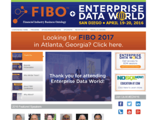 fibo2016.dataversity.net screenshot