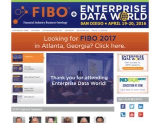 fibo2016.dataversity.net screenshot