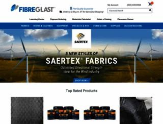 fibreglast.com screenshot