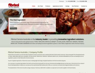 fibrisol.com.au screenshot