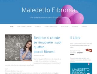 fibromauterino.wordpress.com screenshot