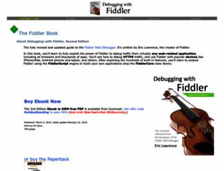 fiddlerbook.com screenshot
