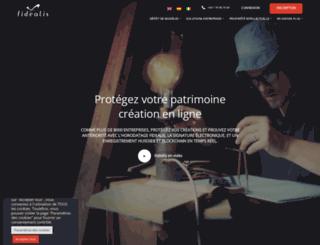 fidealis.com screenshot