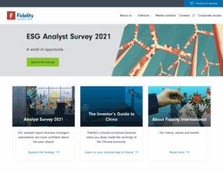 fidelity-international.com screenshot