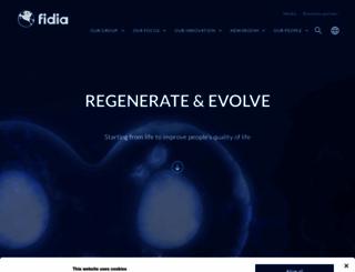 fidiapharma.com screenshot